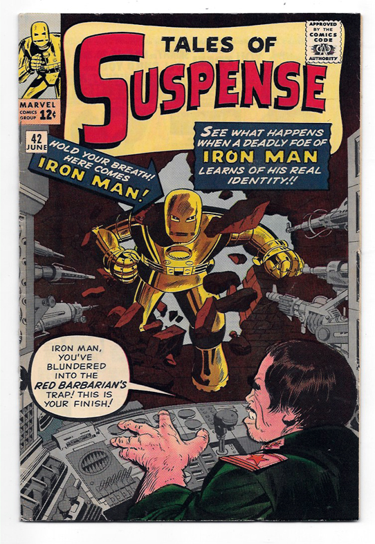 Tales of Suspense (Superheroes) #42 VF- Front Cover