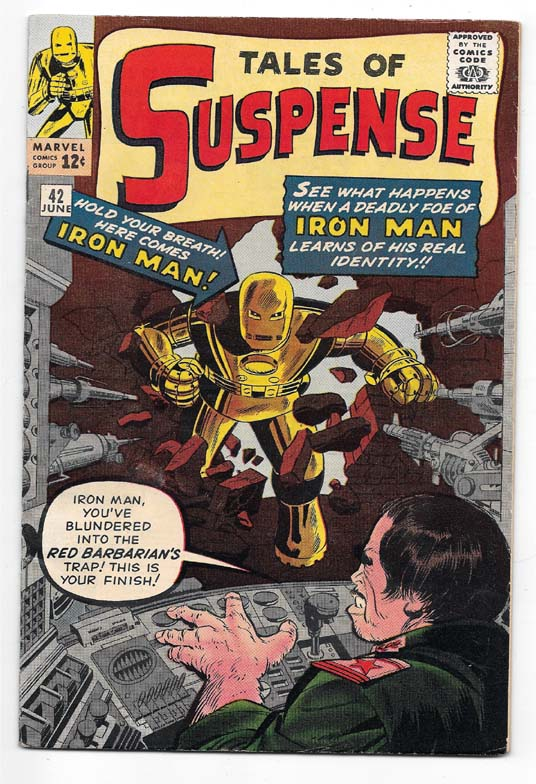 Tales of Suspense (Superheroes) #42 VF Front Cover
