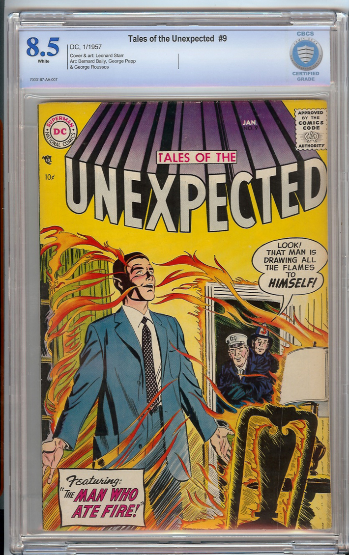Tales of the Unexpected #9 CBCS 8.5 Front Cover
