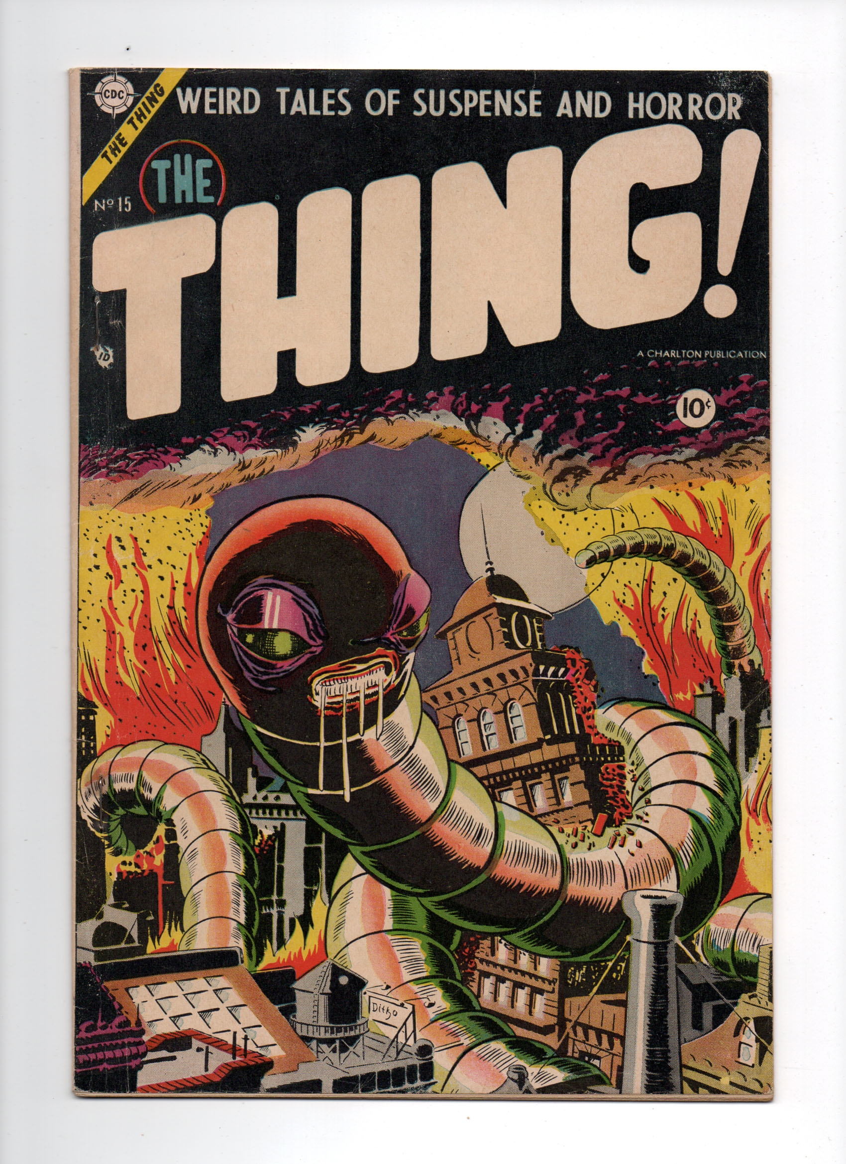 Thing! #15 VF- Front Cover