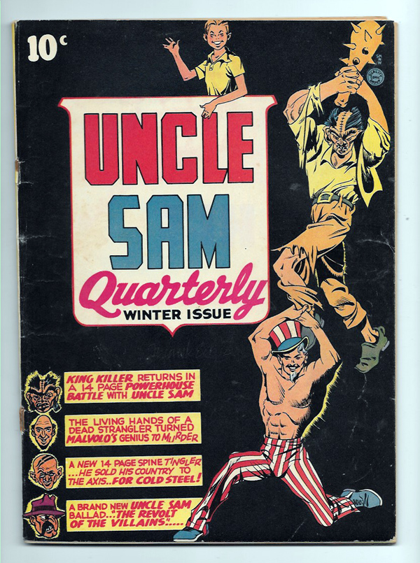 Uncle Sam Quarterly #2 VG/F Front Cover