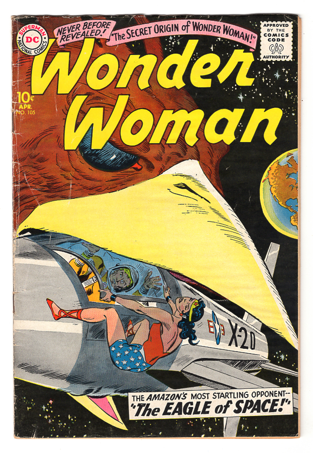 Wonder Woman #105 VG+ Front Cover