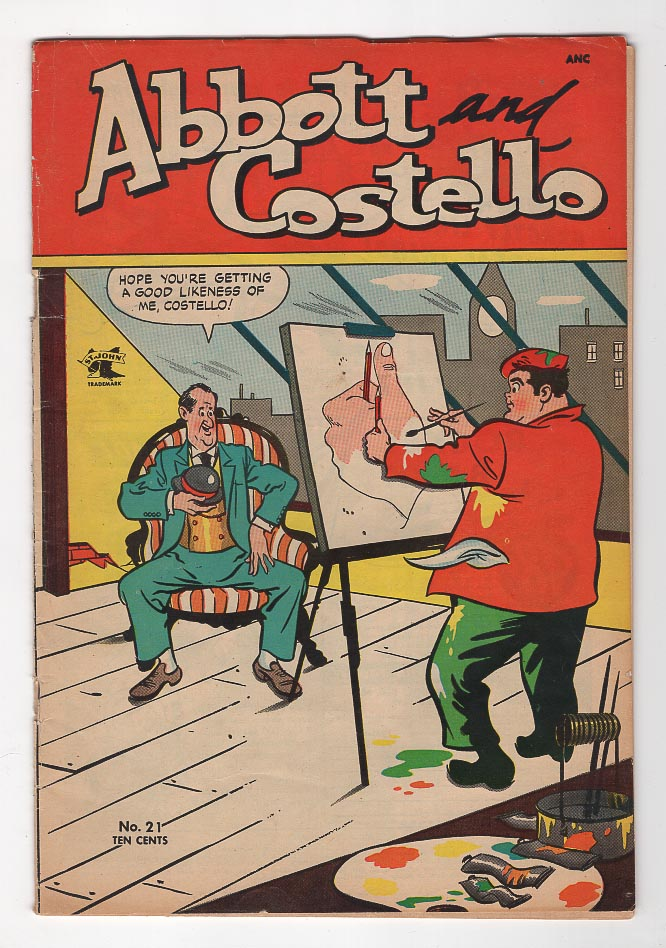 Abbott and Costello (1948) #21 F- Front Cover