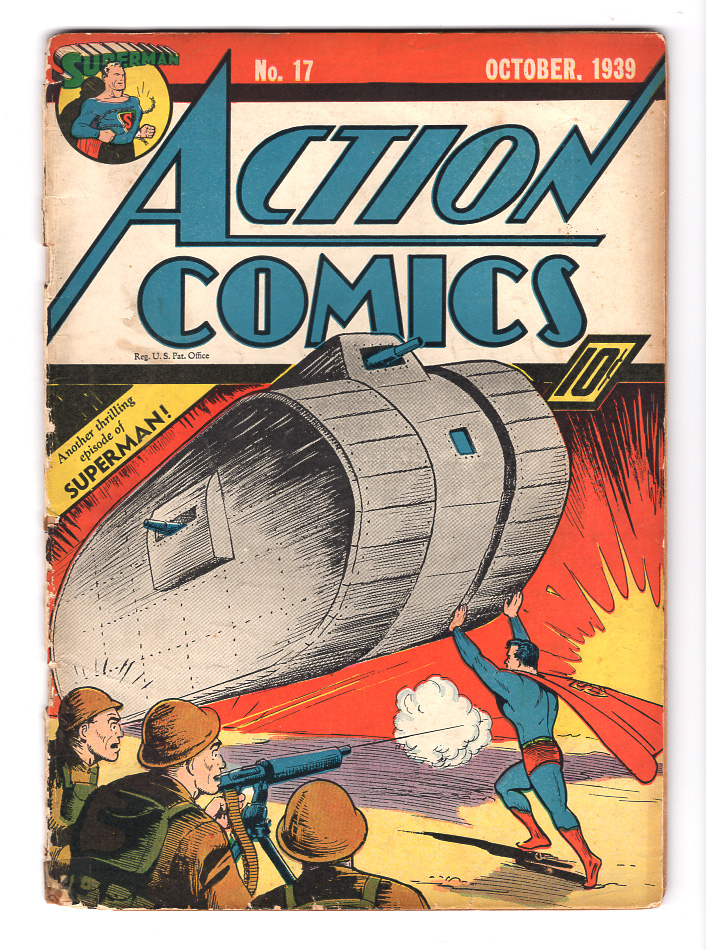Action Comics #17 G/VG Front Cover