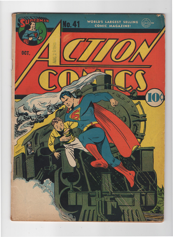 Action Comics #41 F- Front Cover