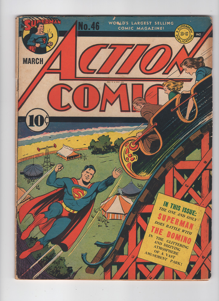 Action Comics #46 F- Front Cover
