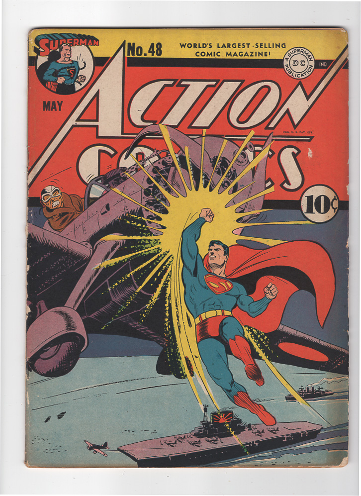 Action Comics #48 VG Front Cover