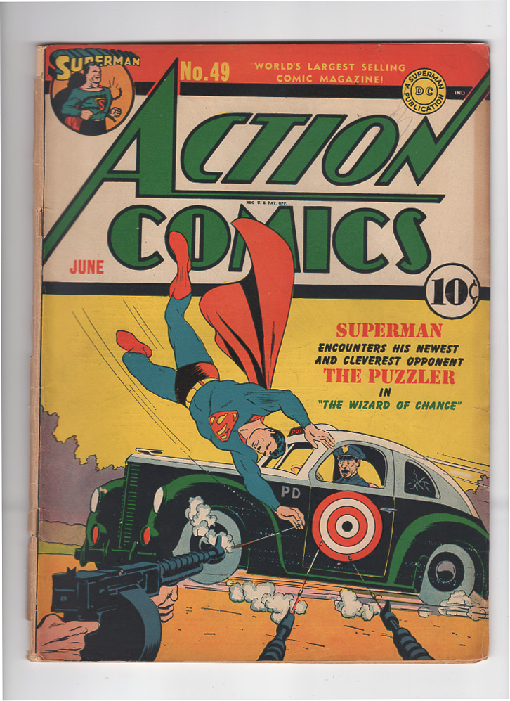 Action Comics #49 G+ Front Cover