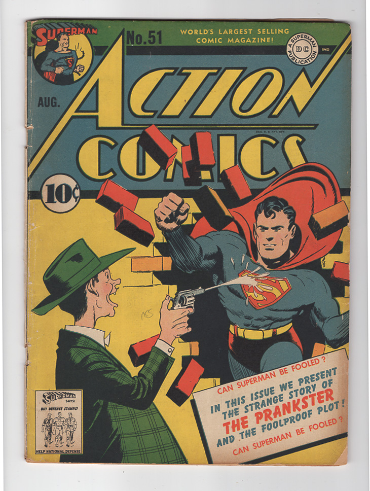 Action Comics #51 VG+ Front Cover