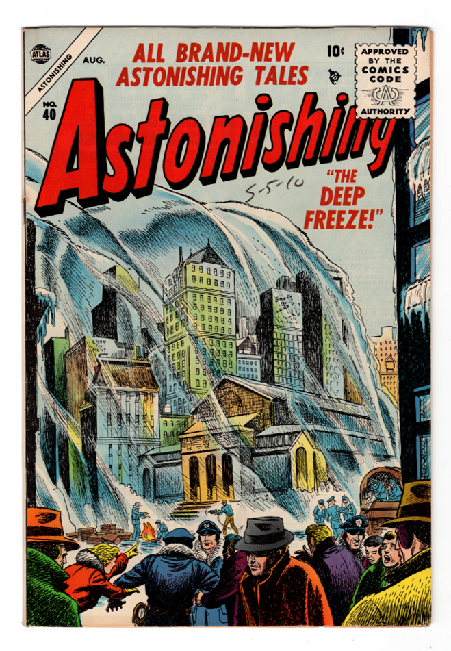 Astonishing #40 VF+ Front Cover