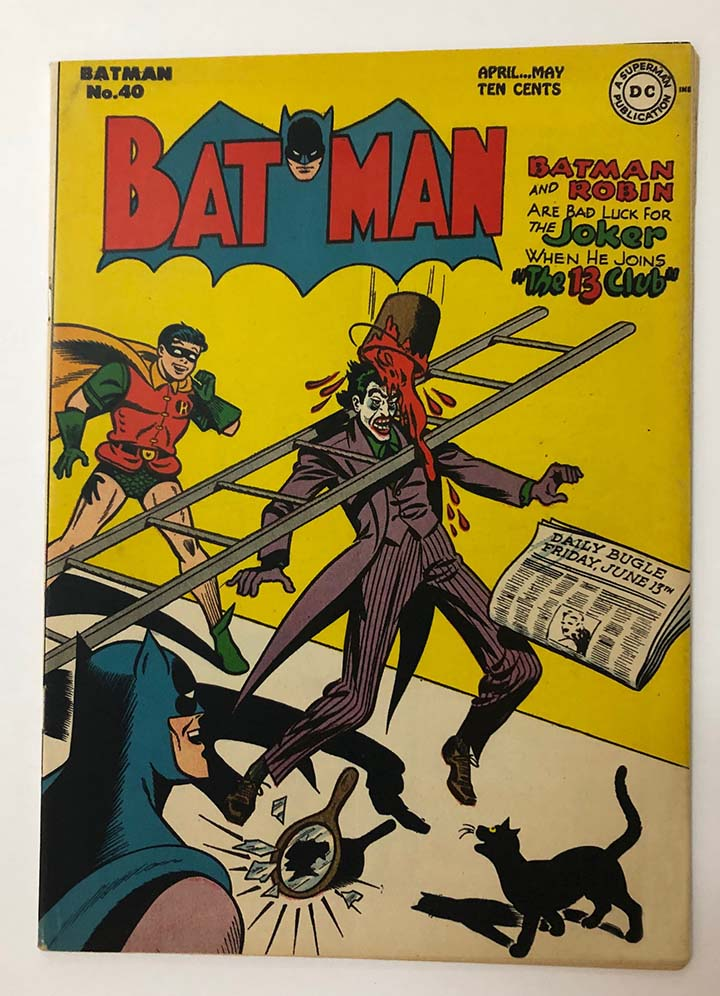 Batman #40 VF+ Front Cover