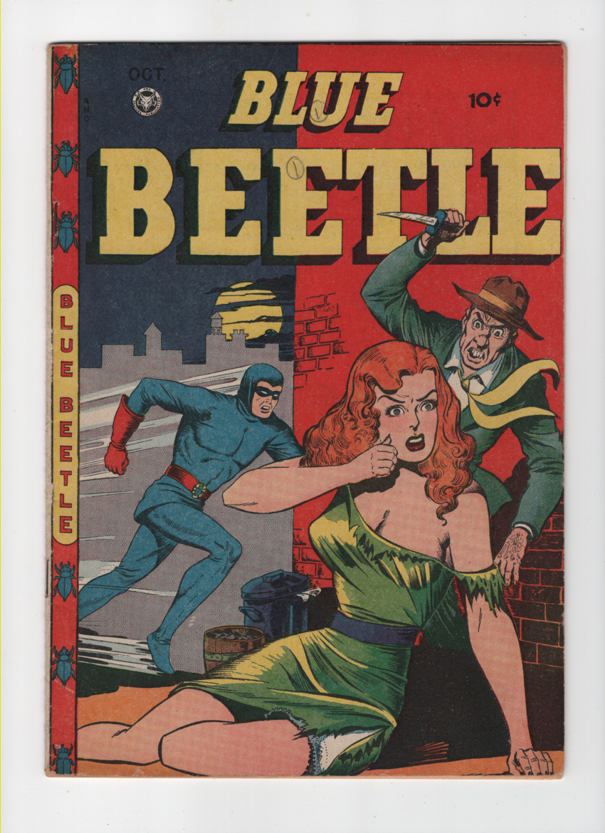 Blue Beetle (Fox) #49 VF Front Cover