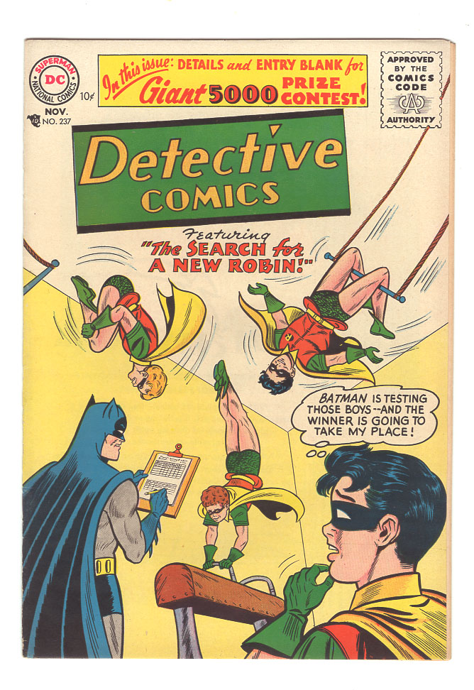 Detective Comics #237 NM- Front Cover