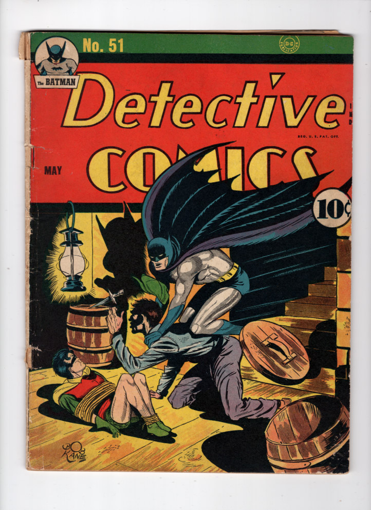 Detective Comics #51 VG Front Cover