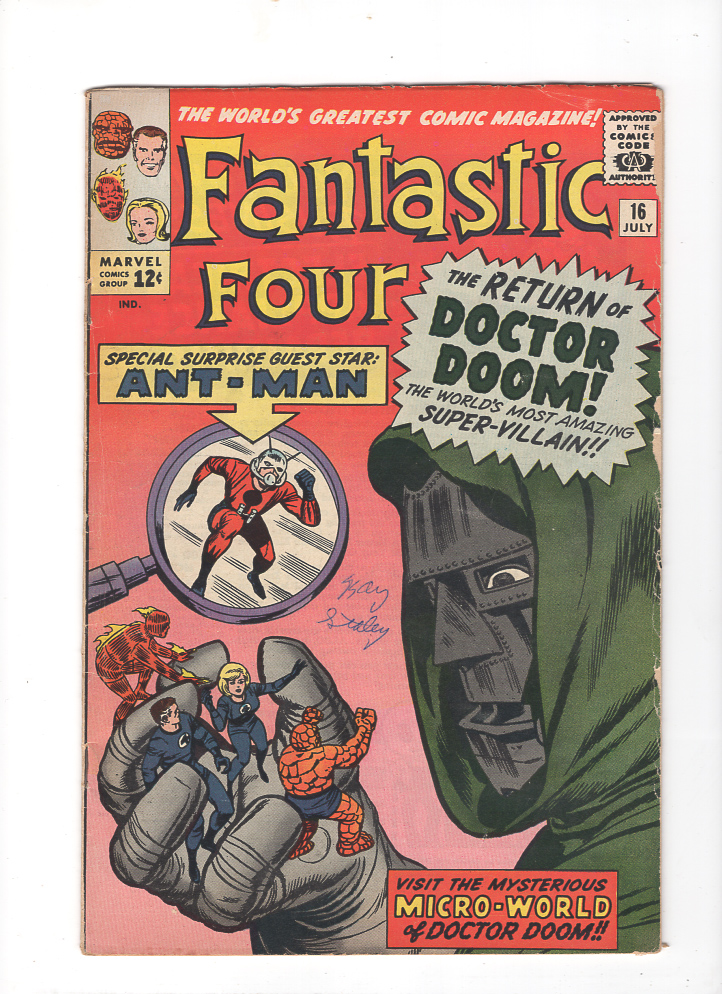 Fantastic Four #16 F/VF Front Cover