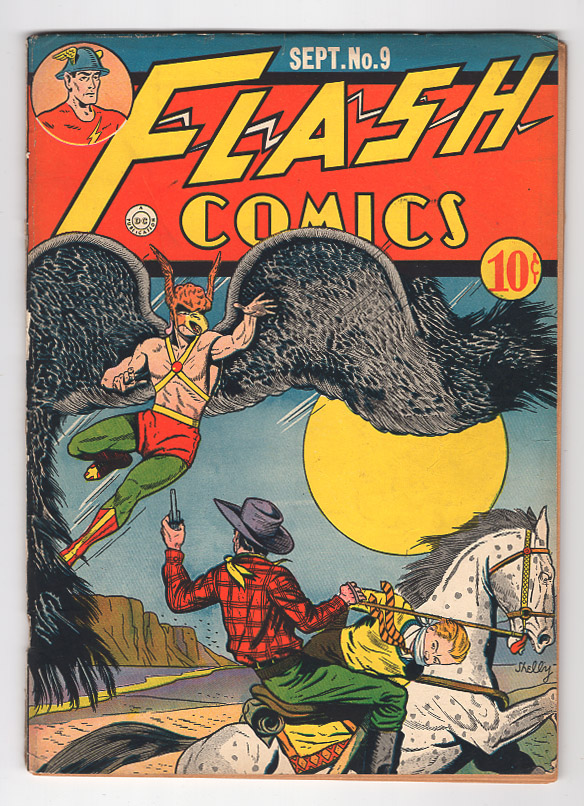 Flash (Golden Age) #9 VG/F Front Cover