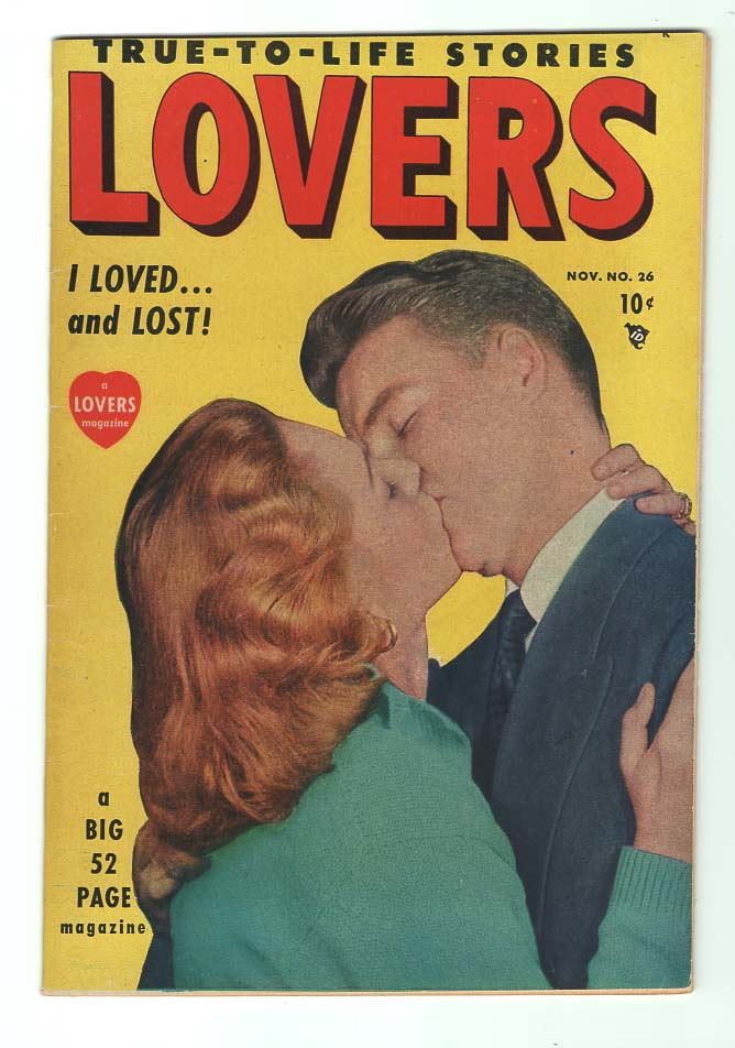 Lovers #26 VF/VF+ Front Cover