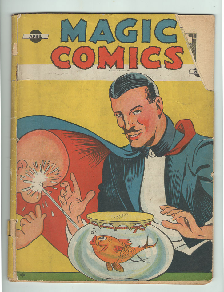 Magic Comics #9 G- Front Cover