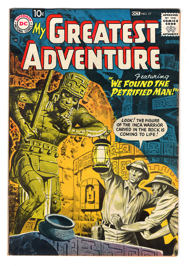 My Greatest Adventure (Pre-Hero) #17 VF+ Front Cover