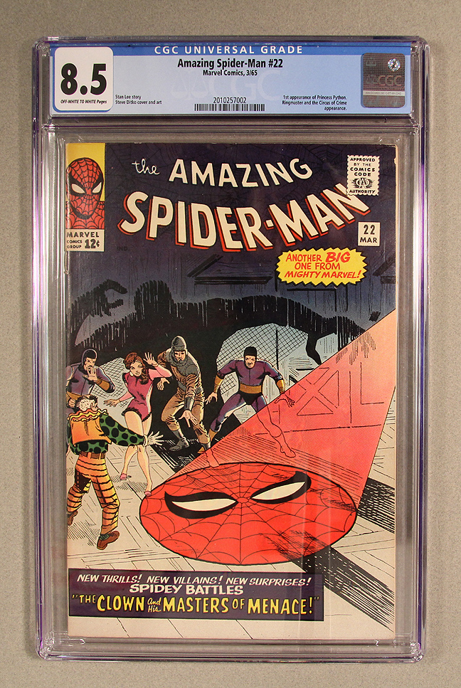 Amazing Spider-Man #22 CGC 8.5 Front Cover