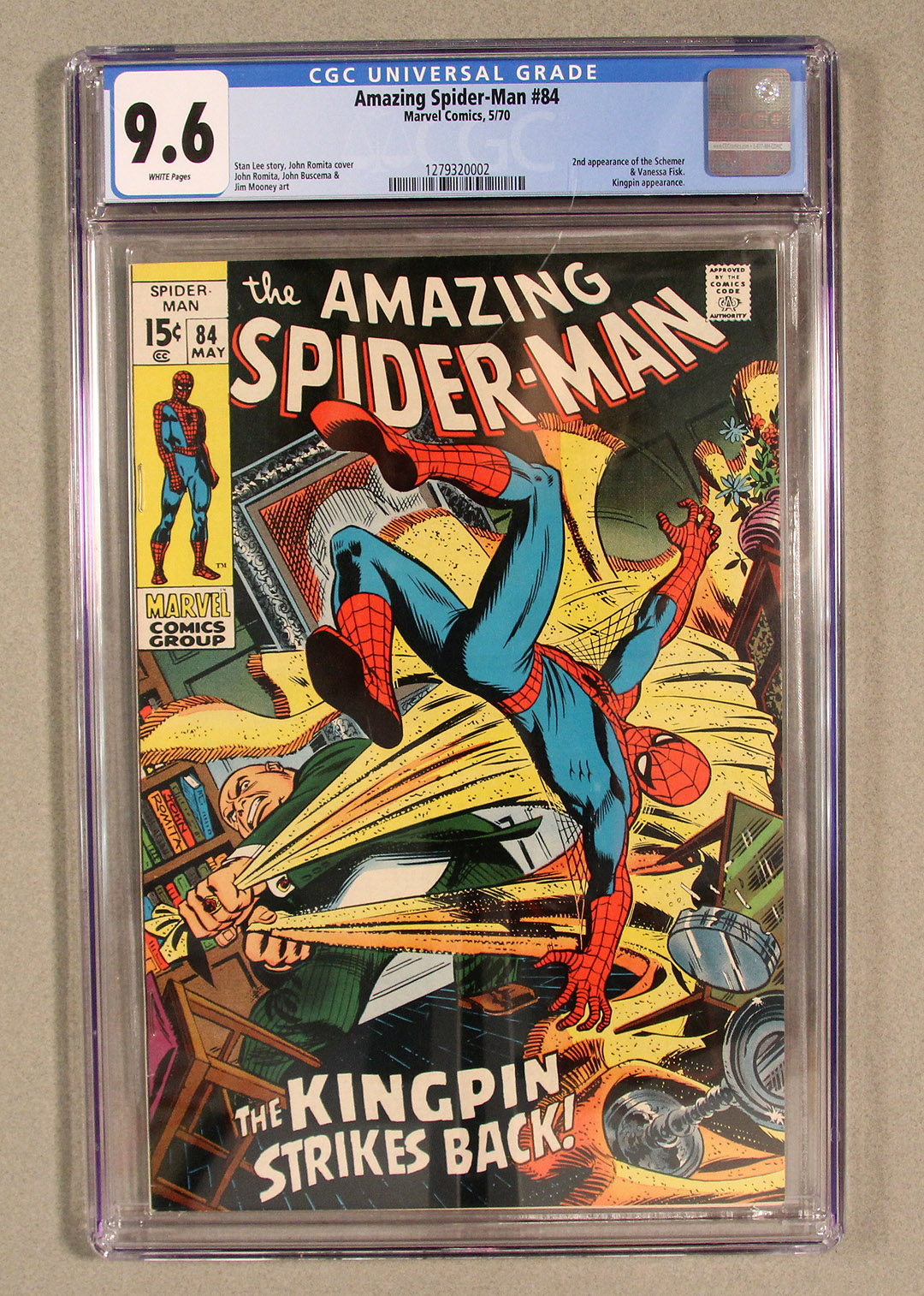 Amazing Spider-Man #84 CGC 9.6 Front Cover