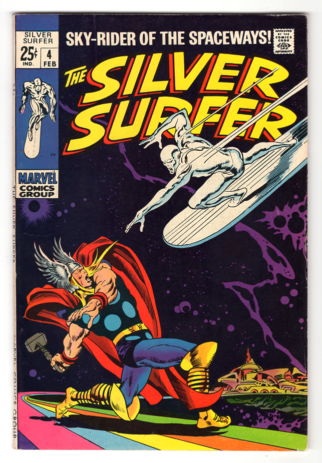 Silver Surfer #4 VF Front Cover