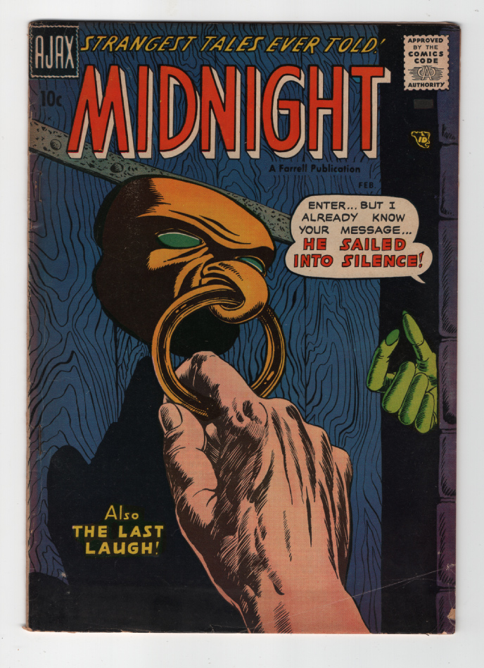 Midnight #5 VG+ Front Cover