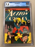 Action Comics #45 CGC 7.5 VF-