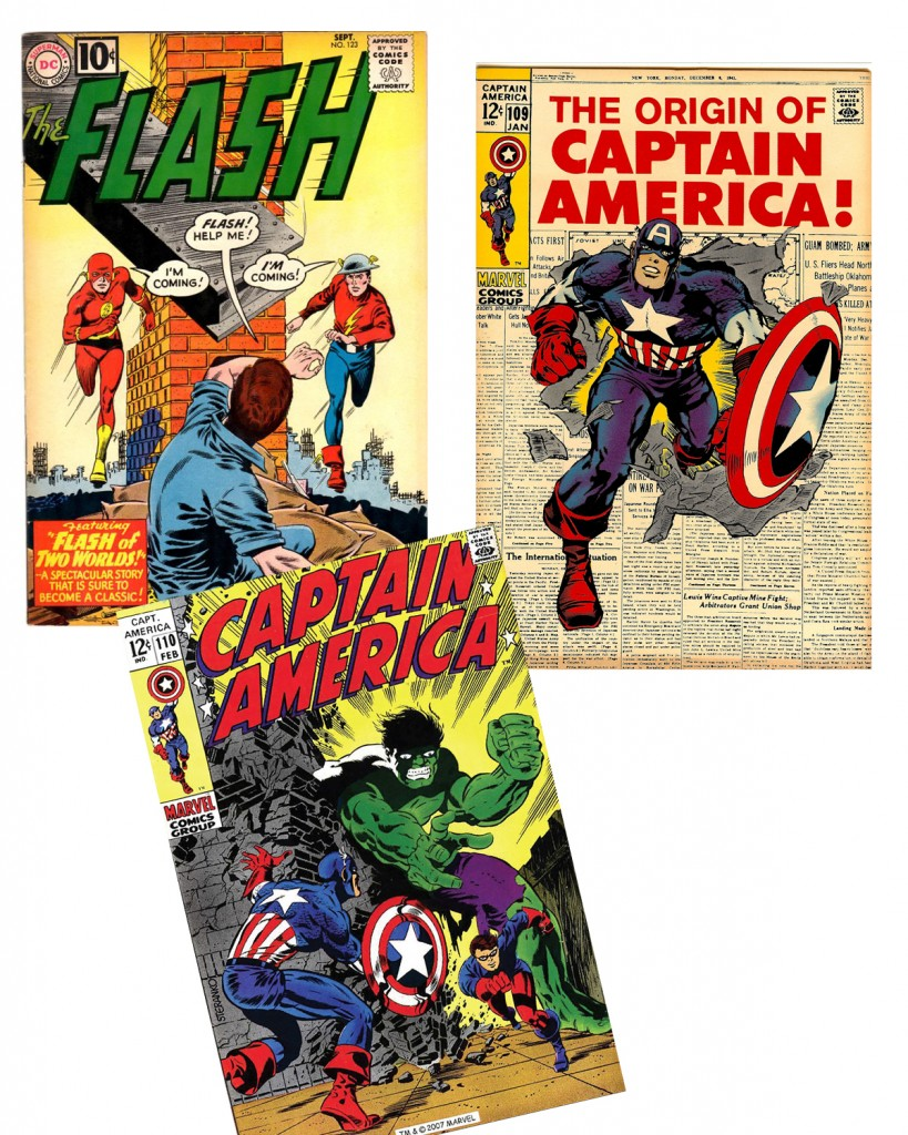 Flash 123, Captain America 109 and 110