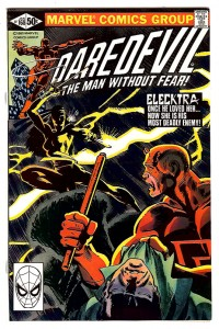 Daredevil #168 with Electra