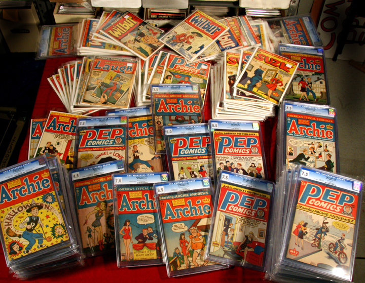 1940's Archies and Peps at Superworld Comics
