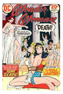 Wonder Woman # 207 Wonder woman bound and gagged