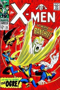 X-Men 28 featuring Banshee