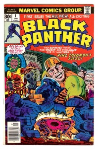 First issue of Black Panther