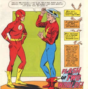 Silver Age and Golden Age Flash