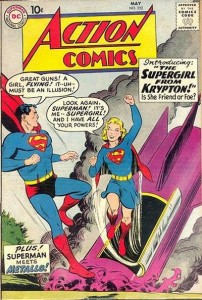 Supergirl first appears in Action 252