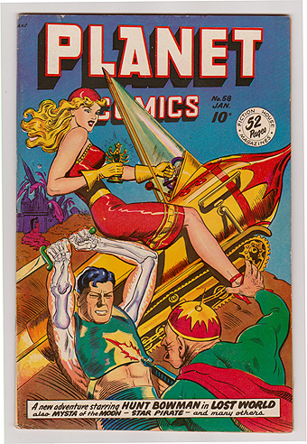 Golden Age Comic Book Sample