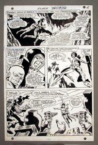 Comic book original art
