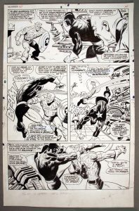 John Buscema Avengers 44, pg 11