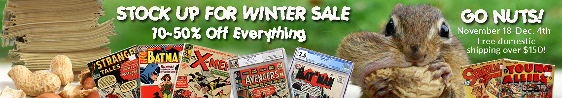 comic book sale
