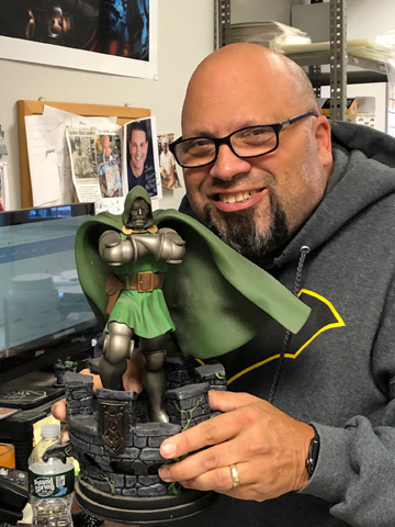 Jose with Dr. Doom
