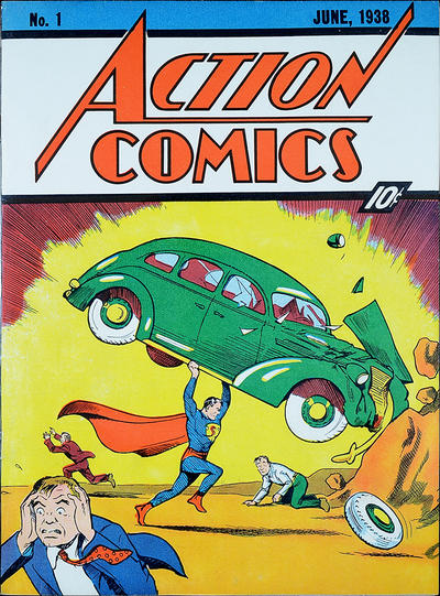 Action Comics #1, great comic investment