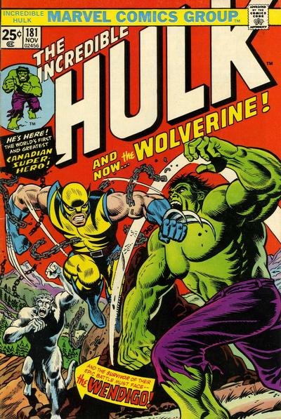 Incredible Hulk #181, hard to find but a good investment comic